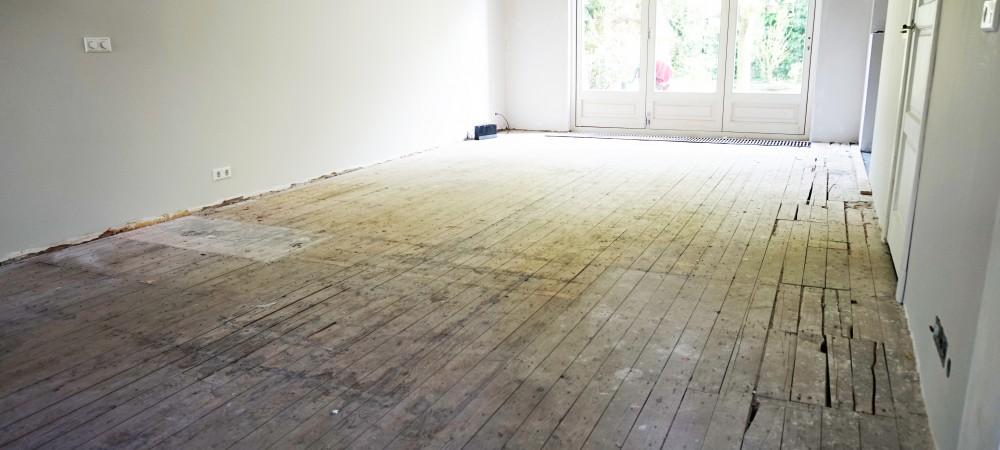 bastel parket houten basisvloer