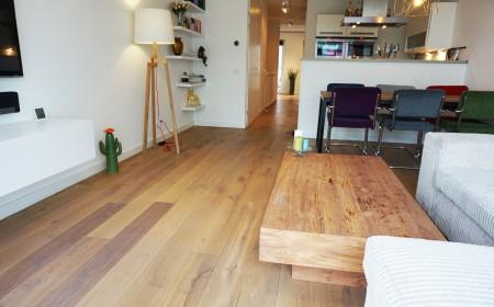 bastel parket eiken houten vloer