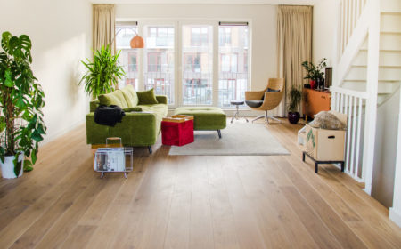 planken houten vloer