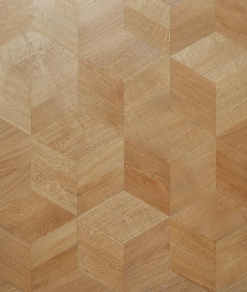 Cube floor 25x25 castle brown