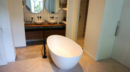 badkamer ensuite visgraat