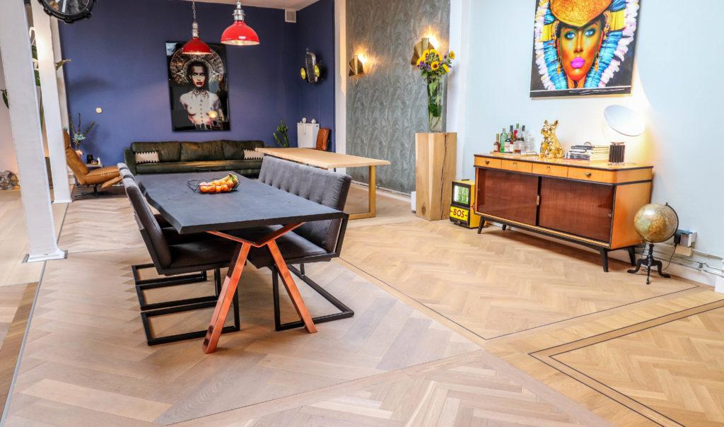 Bastel Parket speciale vloeren winkel showroom amsterdam 1