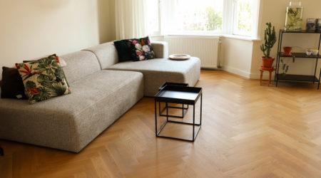 houtenpatroon vloer visgraat